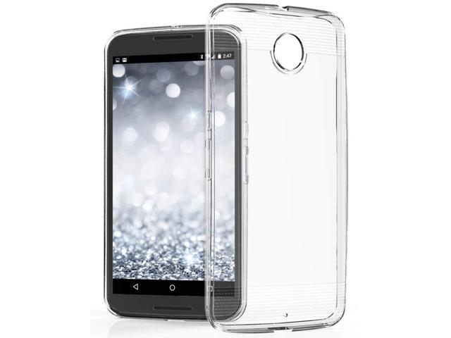 new concept c7fb4 e75ce Nexus 6 Case - VENA [vSkin] slim Protection [1.4mm Thin] TPU Case Cover for  Google Nexus 6 (Crystal Clear) - Newegg.com
