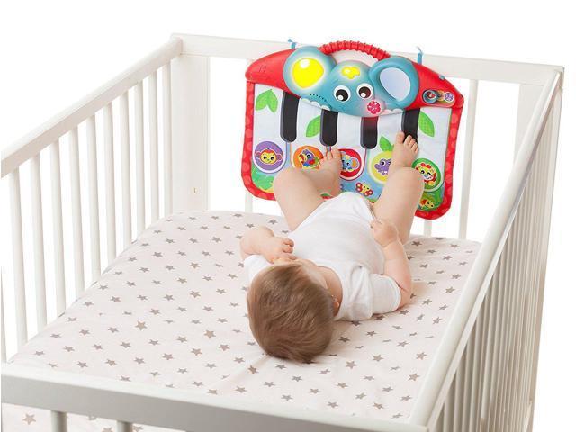 Music Lights Piano Kick Pad Crib Stroller Toy By Playgro