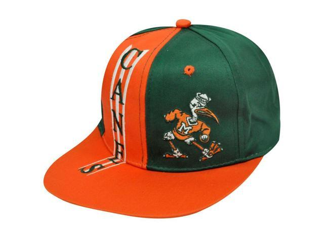 NCAA Miami Hurricanes Drew Pearson Vintage Deadstock Twin Towers Snapback  Hat 1a21490b9d3f