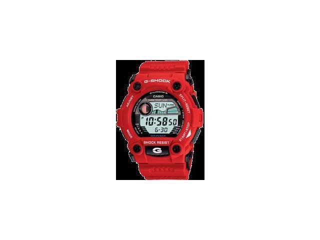 6c1776f5c169 Casio G7900A-4 Men s G-Shock Rescue Red Digital Sport Watch ...