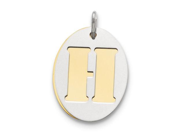Silver Yellow Plated Diaper Charms 19mm
