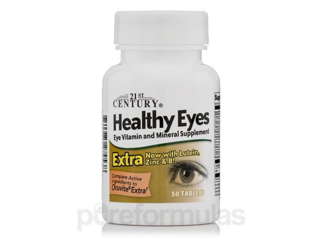 21st Century, Healthy Eyes Extra 50 Tablets - Newegg com