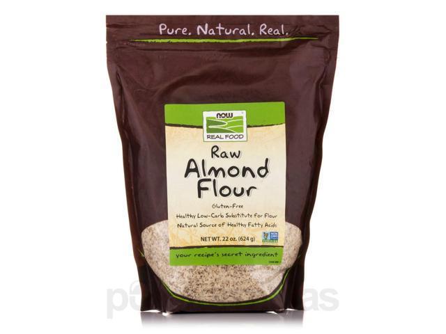 Now Real Food Raw Almond Flour Gluten Free 22 Oz