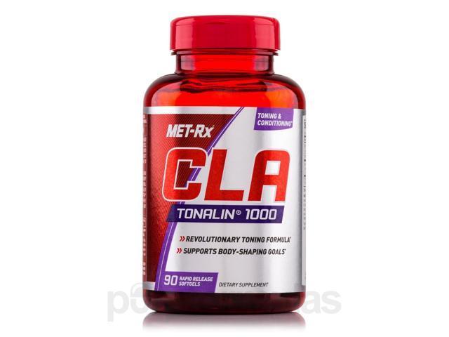 CLA Tonalin 1000 mg - 90 Softgels by MET-Rx