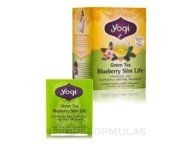 Green Tea Blueberry Slim Life? - 16 Tea