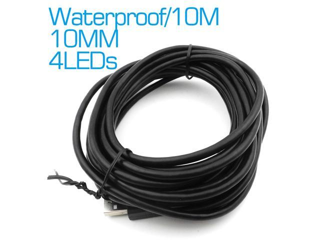 10mm LEN Endoscope 10M Cable Waterproof USB Endoscope Camera Video ...