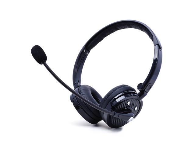Business Head Wearing Stereo Bluetooth Headset Noise Cancelling Headphone With Mic Hand Free Wireless Headsets Headband Earphone For Call Center Trucker Office Staff Newegg Com