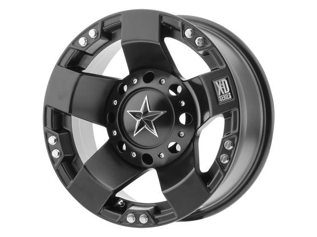XD ATV XS775 Rockstar 15x7 4x137 +0mm Satin Black Wheel Rim 15