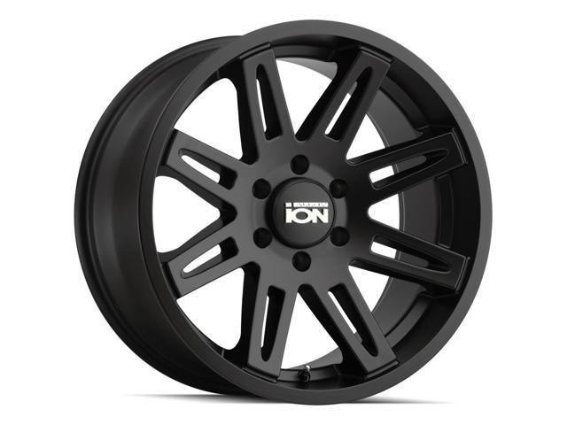 4 Ion 142 20x9 6x135 25mm Matte Black Wheels Rims 20 Inch Newegg Com