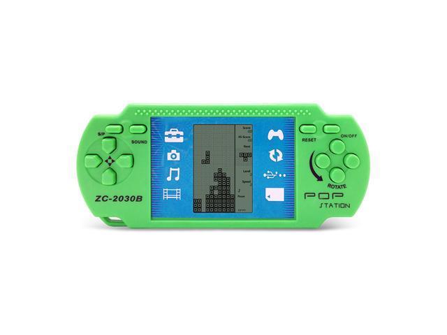 Children Classical Players Retro Portable Tetris Handheld Video Game Console Tetris Kids Gaming Multi Color Kids Console