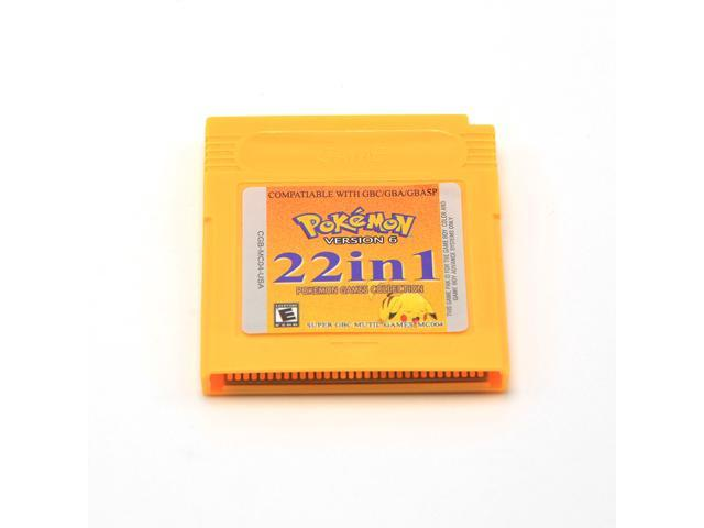 22 In 1 Pokemon Collection Multi Cart