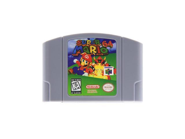 For Nintendo N64 Video Game Cartridge Mario Party/Mario Party 2/Super Mario  64/Harvest Moon 64 Console Card English US Version - Newegg com