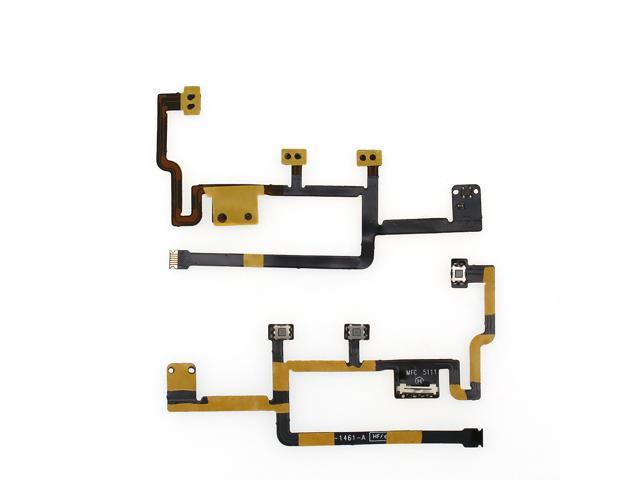 New Power On Off Volume Control Flex Cable Ribbon For