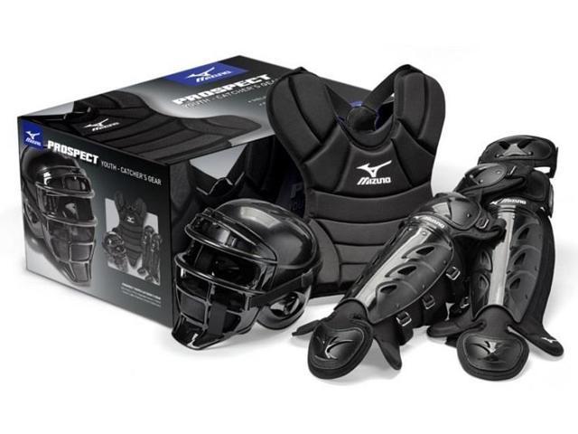 Mizuno Mpp1200 Prospect Junior Youth Catchers Gear Box Set Fits Ages