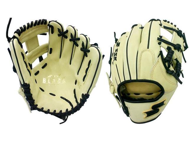 """SSK S19DH2402R 12.75/"""" Black Line Baseball Glove Modeled After Ronald Acuña Glove"""