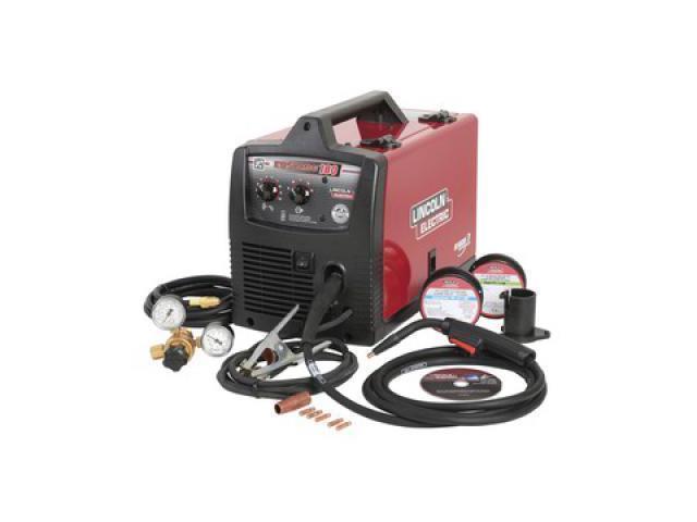 Lincoln Electric Mig Welder >> Portable Mig Welder Easy Mig 180 Series 208 240vac Lincoln