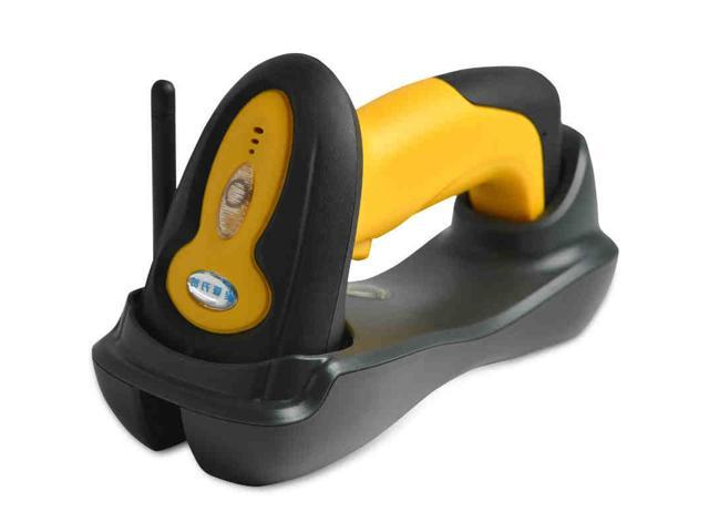 Aibao Wireless Higher Scanning Speed 1D Handheld laser Barcode Scanner Gun  Free Adjustable Stand Yellow - Newegg com