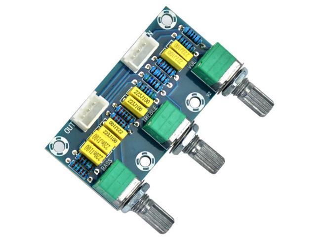 Tube Amplifiers Audio Amplificador Preamp Tone Board Hifi Bass Treble  Volume Control Board 3-Channel Subwoofer 2 1 Amplifier - Newegg com