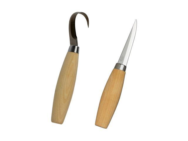 Mora 164 And 106 Wood Spoon Carving Knife Set Made In Sweden Newegg Com