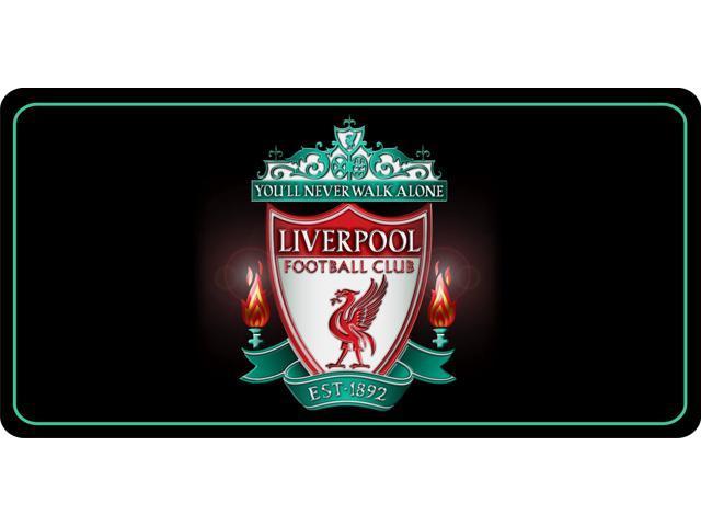 Liverpool Football Club Photo License Plate Newegg Com