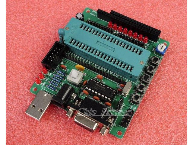 STC89C52 C51 AVR MCU development board DIY learning board kit for Arduino -  Newegg com
