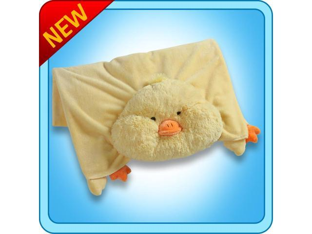 Authentic Pillow Pet Puffy Duck Blanket Plush Toy Gift Neweggcom
