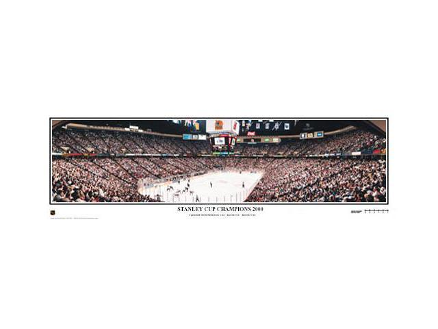 fa713b5be NHL New Jersey Devils 2000 Stanley Cup Champions - 13.5x39 Panoramic Poster.  Deluxe Double