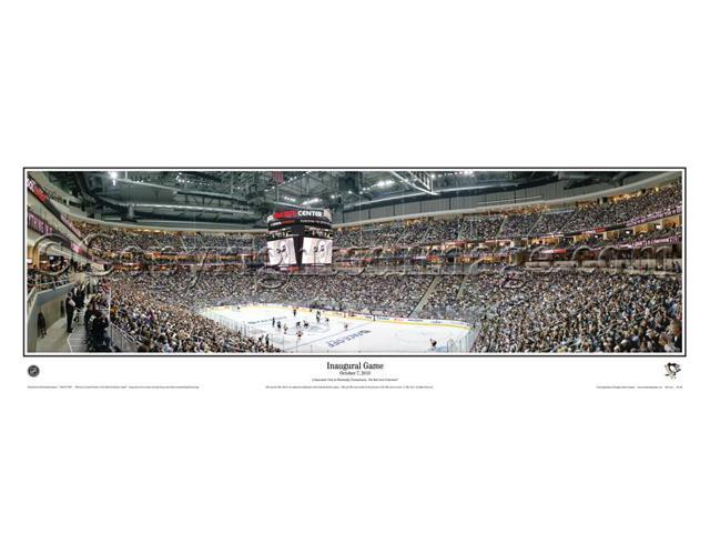 size 40 4af9e 7fdce NHL Pittsburgh Penguins Consol Energy Center Inaugural Game - 13.5x39  Panoramic Poster. Deluxe Double Matted with Black Metal Frame #4023 -  Newegg.com