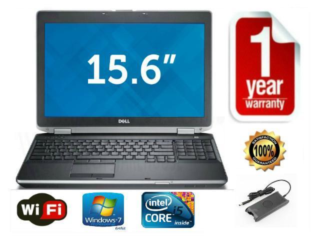 Refurbished: Dell Latitude E6530 3rd Generation i5 2 8GHz - 8gb RAM - 500GB  Hard Drive - 15 6