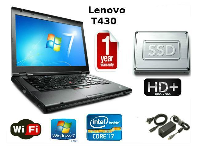 Lenovo Thinkpad T430 - i5-3320M 2 6GHz - 16GB Memory - 1 TB SSD - 14