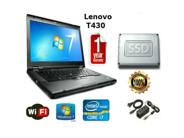 Lenovo Thinkpad T430 - i7-3520M 2 9GHz - 16GB Memory - 160GB SSD - 14