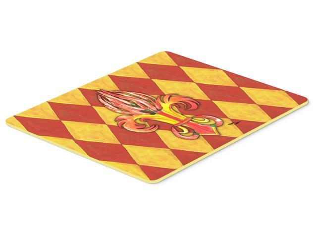 Peppers Fleur de lis Kitchen or Bath Mat 24x36 - Newegg.com