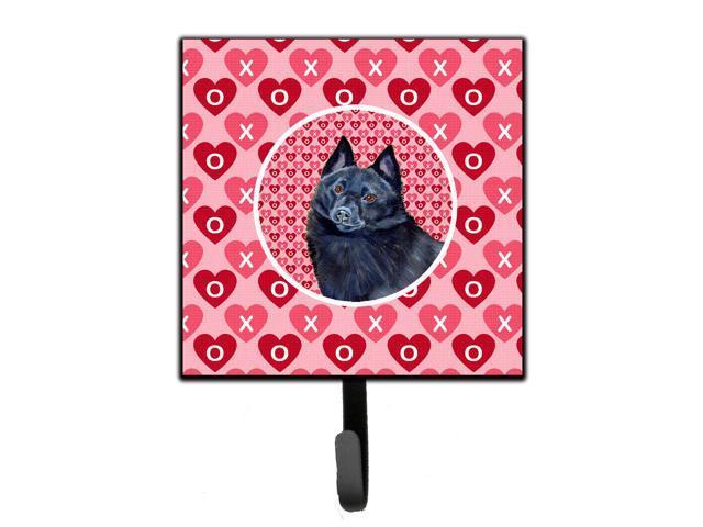 Schipperke Valentines Love And Hearts Leash Or Key Holder Neweggcom