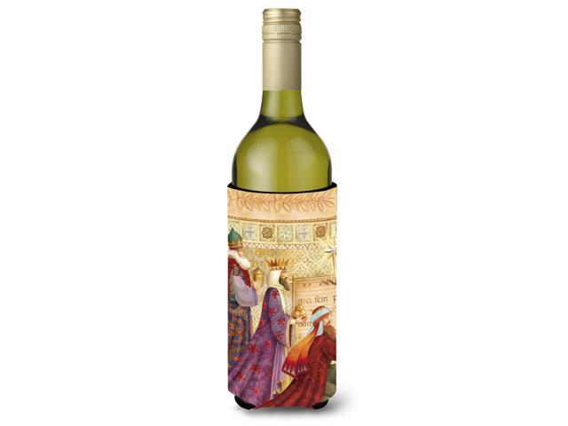 Christmas Three Wise Men Wine Bottle Beverage Insulator Hugger