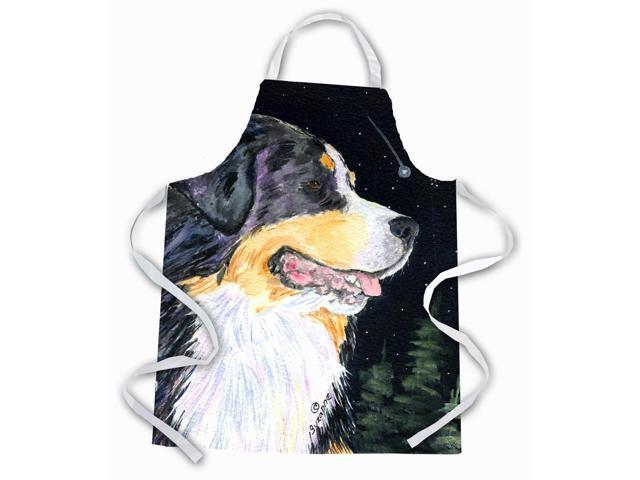 Starry Night Bernese Mountain Dog Apron Newegg Com