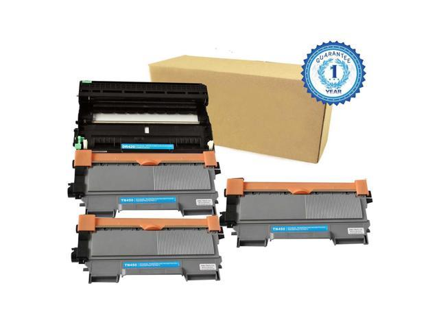 Generic Brother TN-450 Toner Cartridge for DCP-7065DN HL-2130 HL-2240 4PK