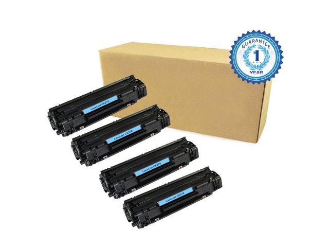 4PK CE278A 78A Black Toner Cartridge For HP P1560 P1566 P1606 P1606N P1606DN