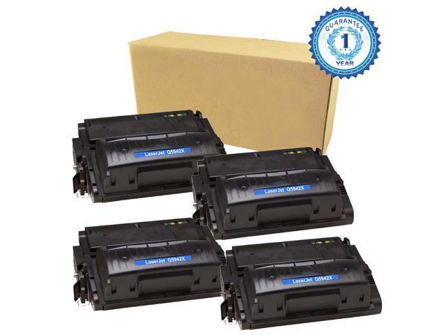 4PK Compatible Q5942X 42X Black Toner Cartridge For LaserJet 4350dtn 4250dtn