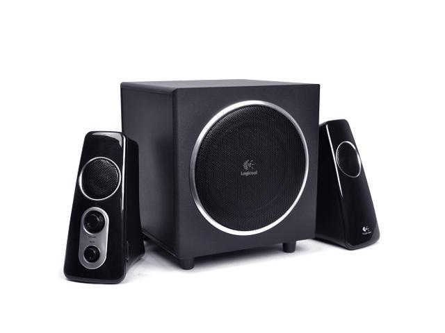 86075d25ff4 Logitech Logicool Z523 3-Piece 2.1 Channel Multimedia Speaker System  w/360-degree