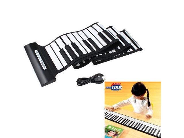 Newest USB 88 Keys Midi Roll up Electronic Piano Keyboard Silicone Flexible  Professional Piano Keyboards - Newegg com