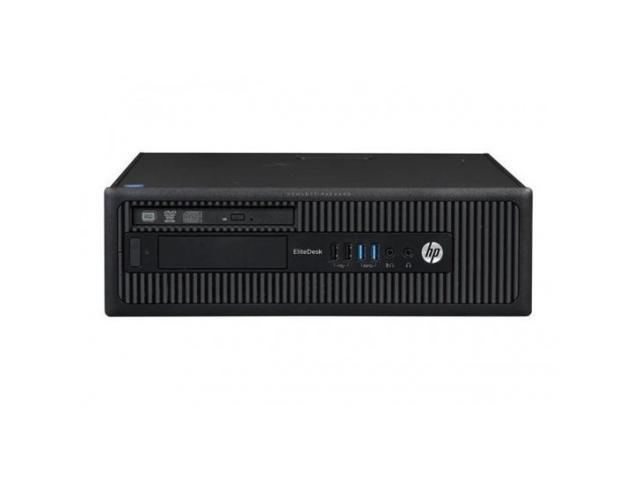 Refurbished: HP EliteDesk 800 G1 SFF - Intel Core i5-4590 3 30 GHz (Quad  Core, 4th Gen ) - 4GB - 500GB - DVD/RW - Windows 10 Home - Newegg com