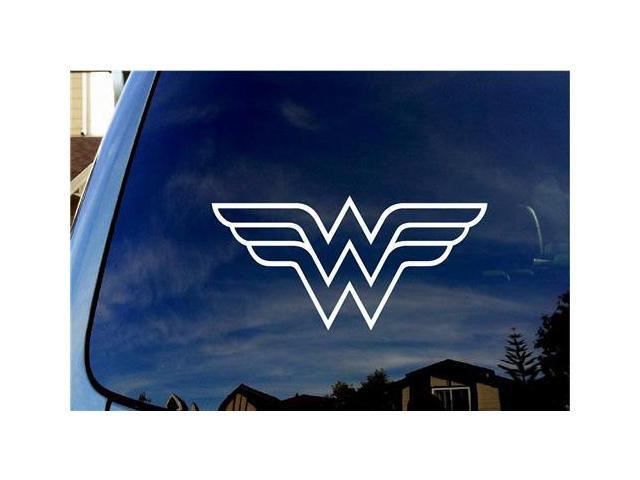 Wonder Woman Symbol Stickers For Cars 5 Inch Newegg