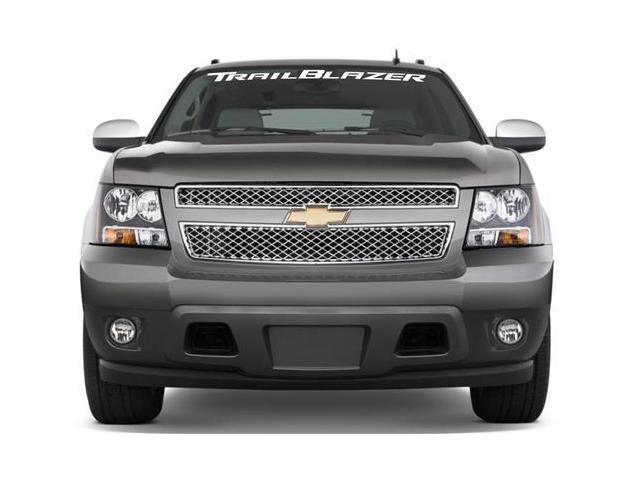 Chevrolet trailblazer windshield banner decal