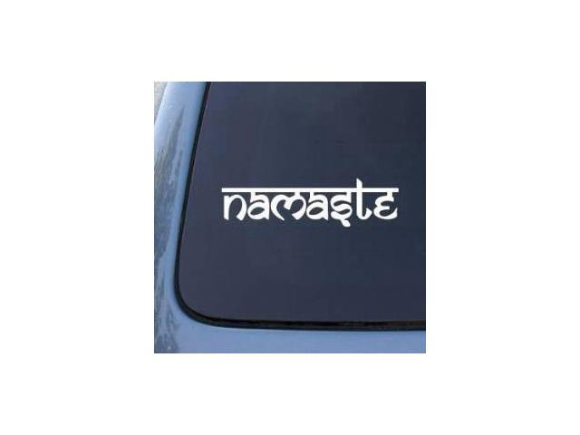 Namaste Symbol Stickers For Cars 9 Inch Newegg