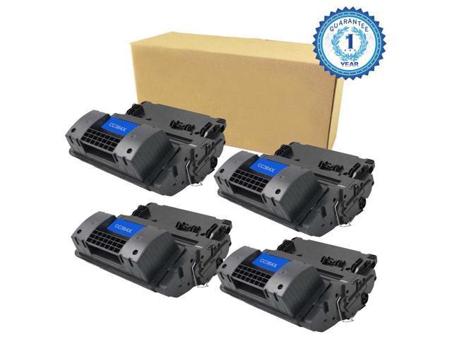 4PK CC364X 64X HighYield Laser Toner For HP LaserJet P4015 P4015n P4015tn P4015x