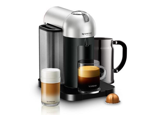 NESPRESSO VERTUOLINE GCA1 SIPK Vertuoline Coffee Maker With Aeroccino