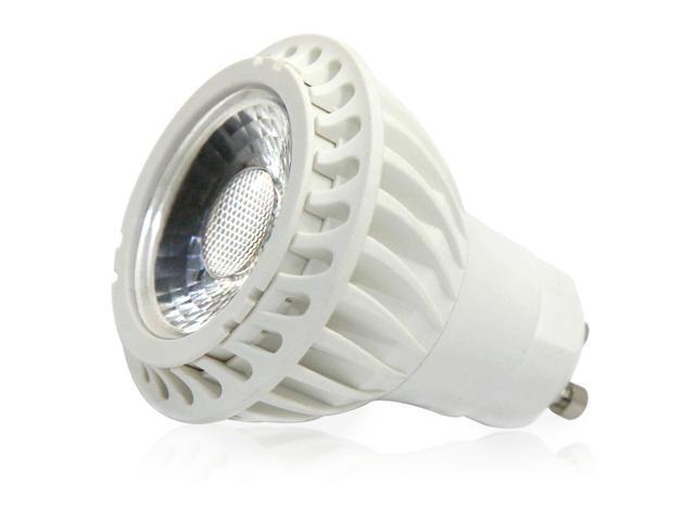 110v 5w Cob Gu10 Led Light Bulb 6000k Daylight White Spotlight 50w Equivalent 530lm 30 Degree Beam Angle For Recessed Lighting Ceiling Fan