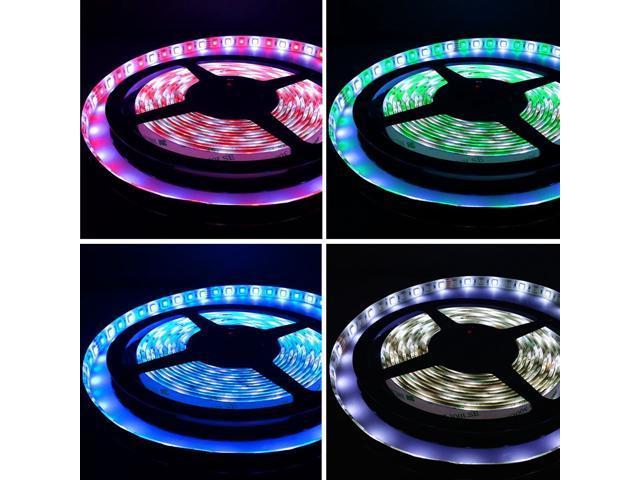 Color Changing Led Light Strips Enchanting 6060ft 60m RGBWHITE Color Changing LED Strip Lights RGBW