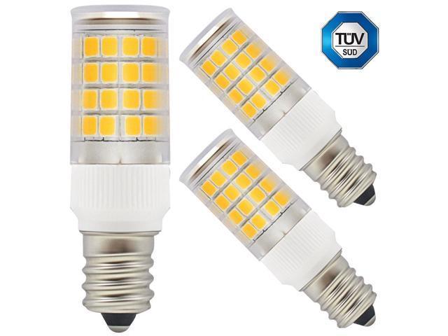3 Pack 110v 5w E12 Candelabra Base Led Bulb 40w Equivalent 2700k Warm White