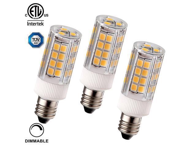 3 Pack 3 5w 40w Equiv Dimmable E11 Led Light Bulb Etl Listed 400lm 3000k Warm White Ceiling Fans Line Voltage Pendants Desk Table Floor